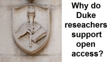 Why support open access?